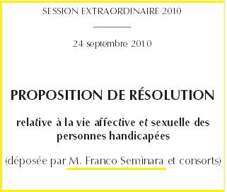 Proposition Franco Seminara