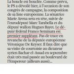 la libre - franco - europe 24 mars 2014